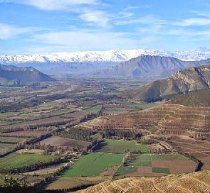 The great Aconcagua valley