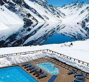 Visita ski en portillo hotel portillo for Piscinas portillo