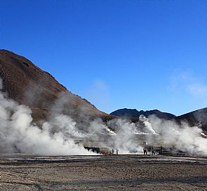Trekking to the Tatio Geysers