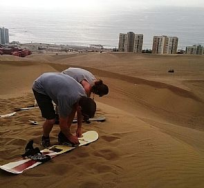 Sandboard in Iquique - Adventure Tour