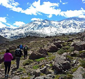 Hike to San jose de Maipo Volcano