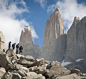 W circuit in Torres del Paine in self-guided shelters