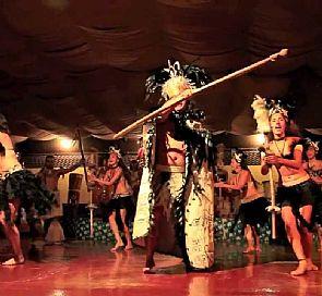 Cena show en restaurante Bali Hai