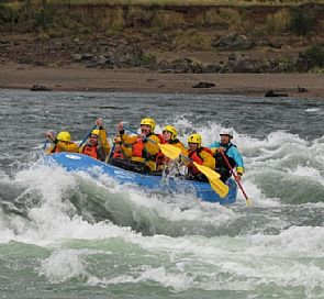 Rafting in Blanco and Aysén rivers