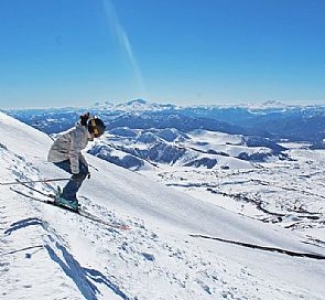 Ski Week for beginners in Corralco