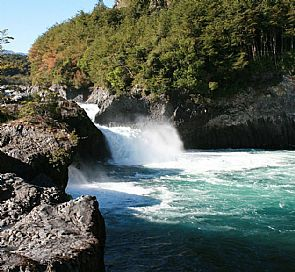 Petrohue Falls and Todos los Santos Lake Tour