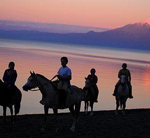 Cabalgata por los ecosistemas de la cuenca del lago Llanquihue