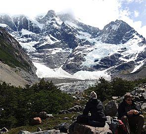 Trekking por el valle del Francés en el Parque Nacional Torres del Paine