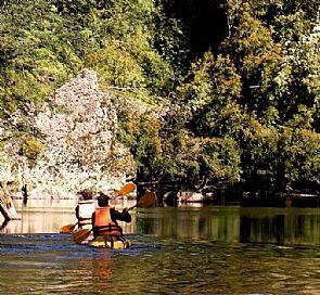 Passeio a cavalo e caiaque no rio San Pedro