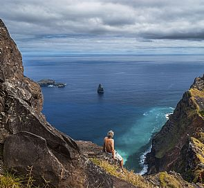 Tour through the Ahu Vinapu, the Rano Kau and Orongo Volcano