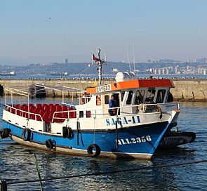 Navigation through Valparaíso bay