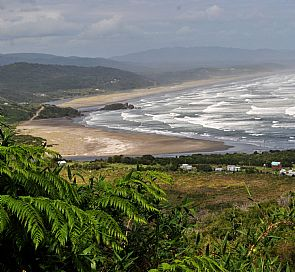 Cole Cole, the incredible hidden beach of the Chiloé National Park