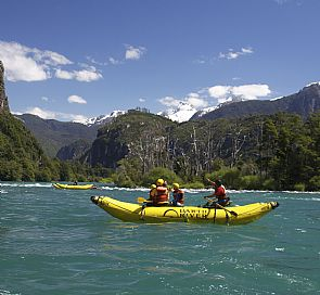 Futaleufú, adventure sports paradise on Carretera Austral