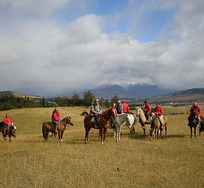 Patagonia horseback riding on Carretera Austral