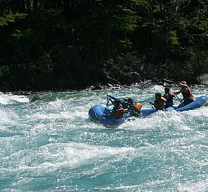 Rafting in Aysén