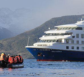 Stella Australis cruise in Tierra del Fuego