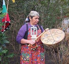 Visita à comunidade mapuche em Pucón