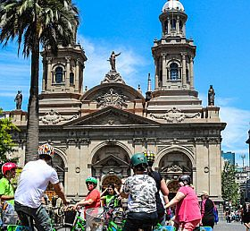 Bicycle in Santiago