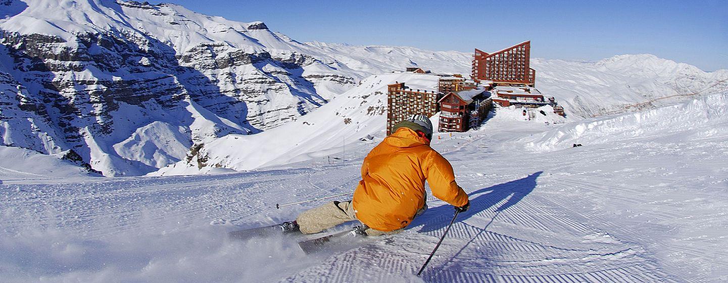 ski resort chile - valle nevado
