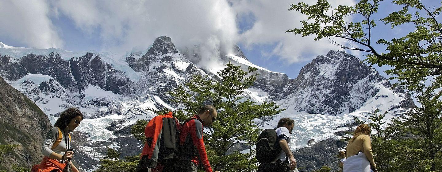 Circuito W Torres Del Paine Mapa : Circuito w com conforto para quem não quer dormir em acampamentos