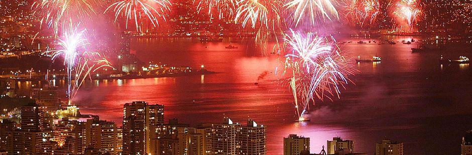 New Year in Viña del Mar
