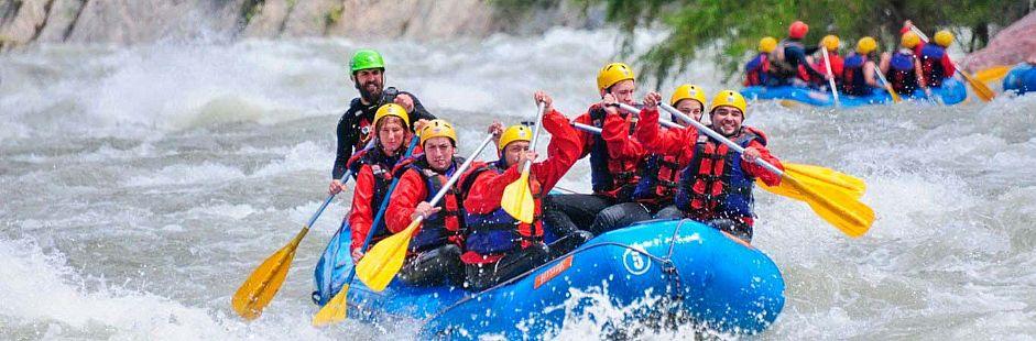 Rafting familiar río Trancura