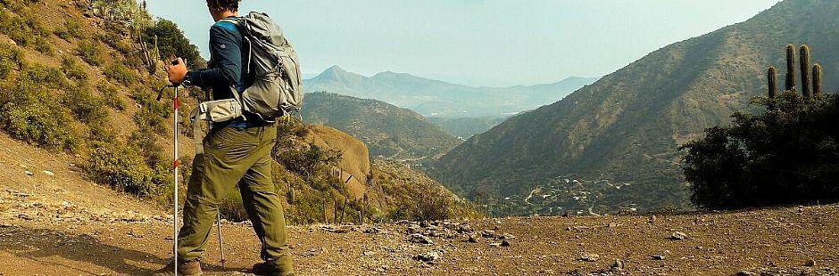 Trekking Alto del Naranjo en Santiago