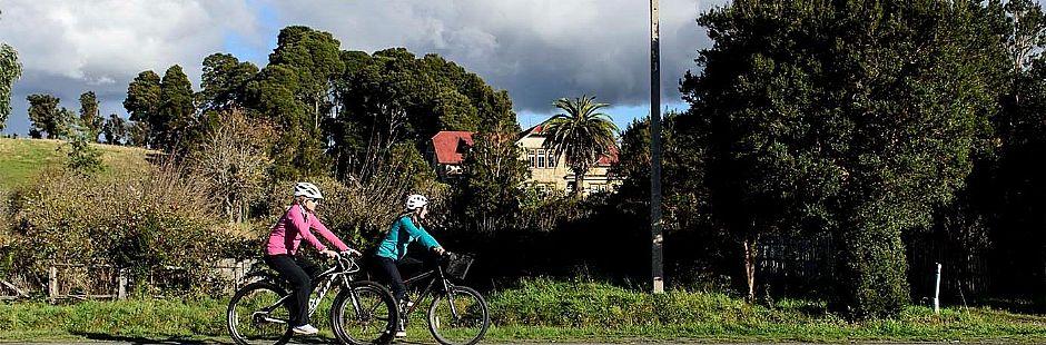 Vuelta al lago Llanquihue en bicicleta, con visita al PN Vicente Pérez Rosales y el volcán Osorno