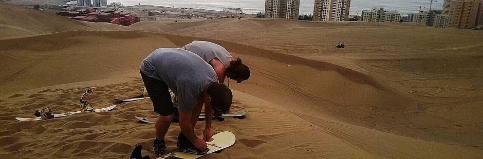Sandboard en Iquique - Tour aventura