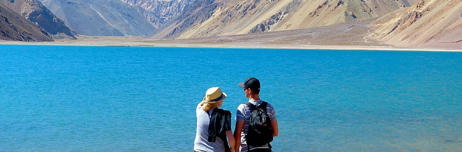 Tour to El Yeso reservoir