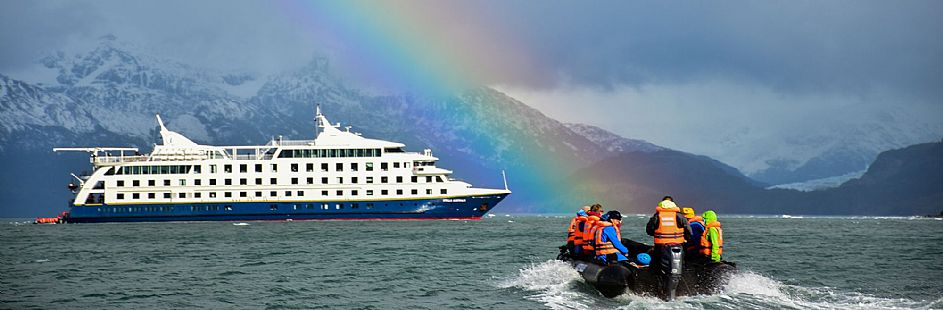 Crucero por el archipiélago de Tierra del Fuego