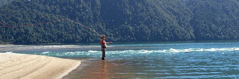 Fly Fishing Carretera Austral con Terra Luna Lodge