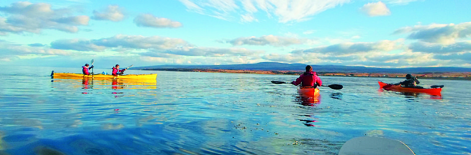 Kayak en bahía agua Fresca