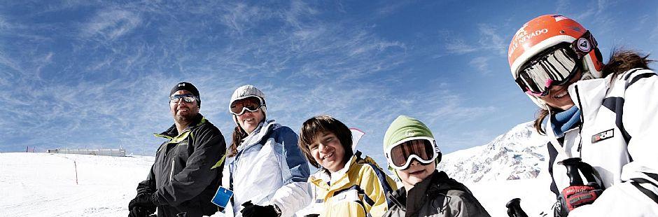 Día de ski en Valle Nevado con ticket General y traslados
