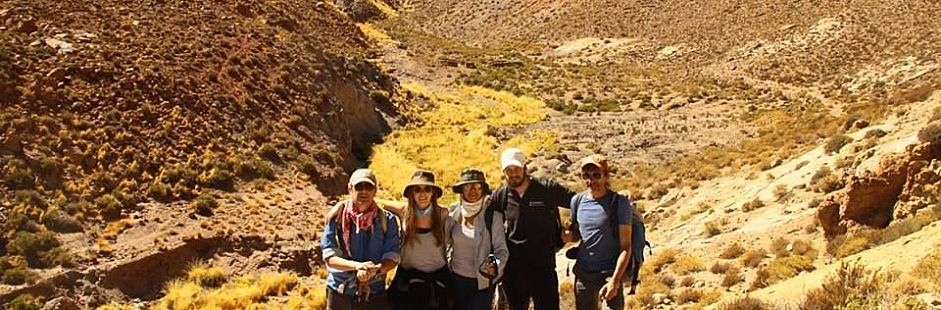 Trekking from Machuca to Grande river