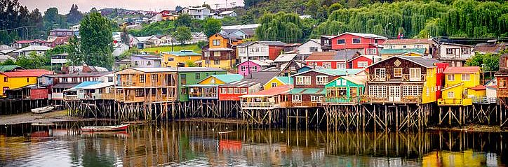 Castro and Dalcahue city tour, from Puerto Varas