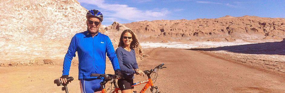 Mountain bike hacia Laguna Cejar
