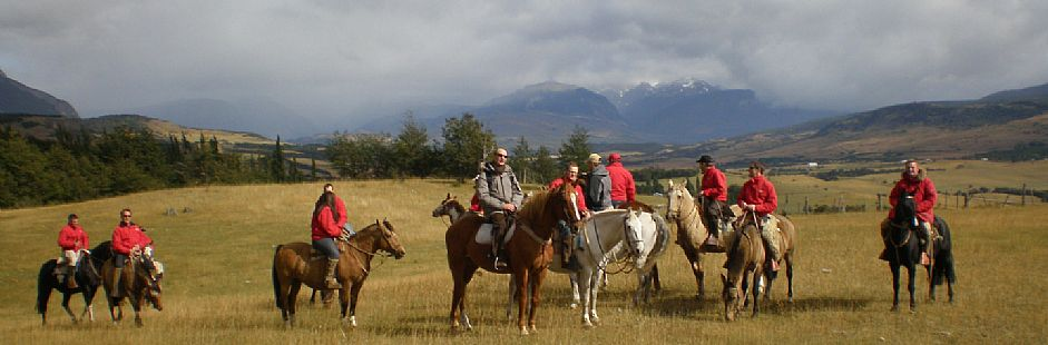 Patagonia horseback riding on Carretera Austral