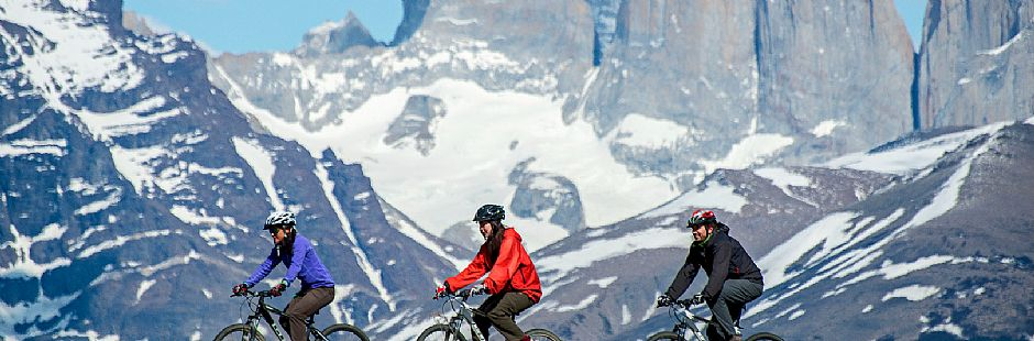 Winter adventure in Torres del Paine