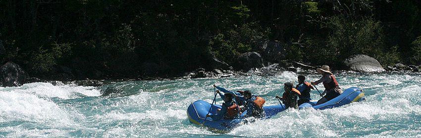 Rafting por los ríos de Aysén