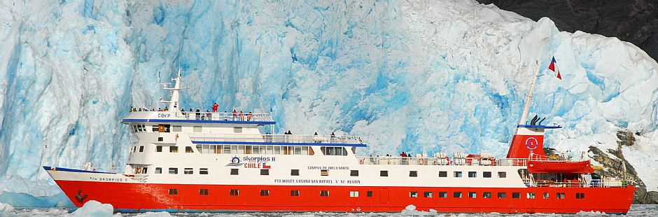 Cruise from Puerto Montt to San Rafael Lagoon - 6 days / 5 nights