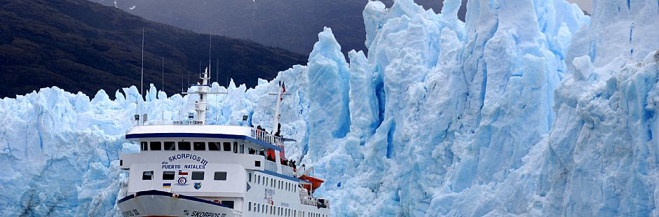 Skorpios cruise through fjords and glaciers in Patagonia - 4 days / 3 nights
