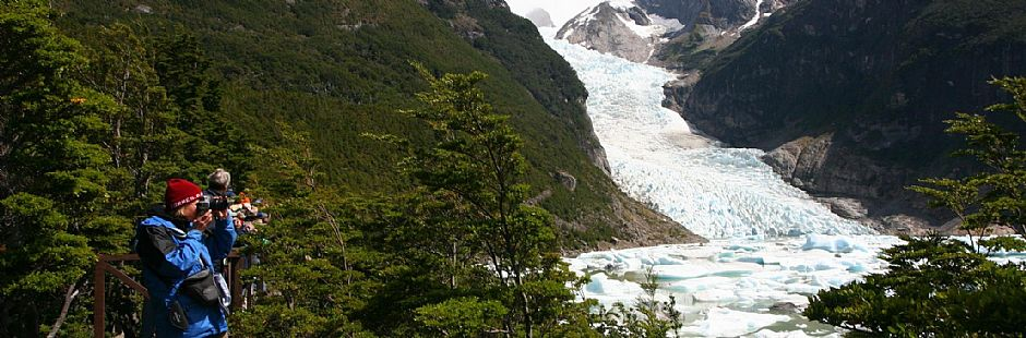 Tour of navigation in Balmaceda and Serrano glaciers