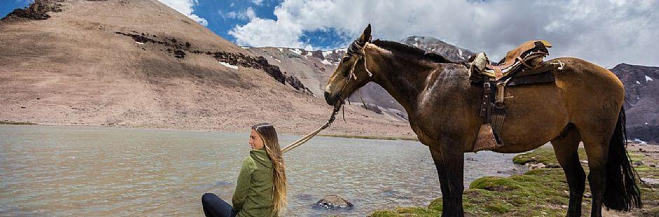 Cabalgata por la cordillera de Los Andes