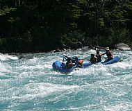 Rafting in Baker River